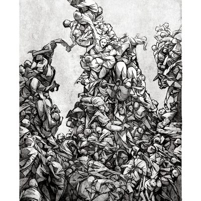 On The Shoulders Of Giants (print)