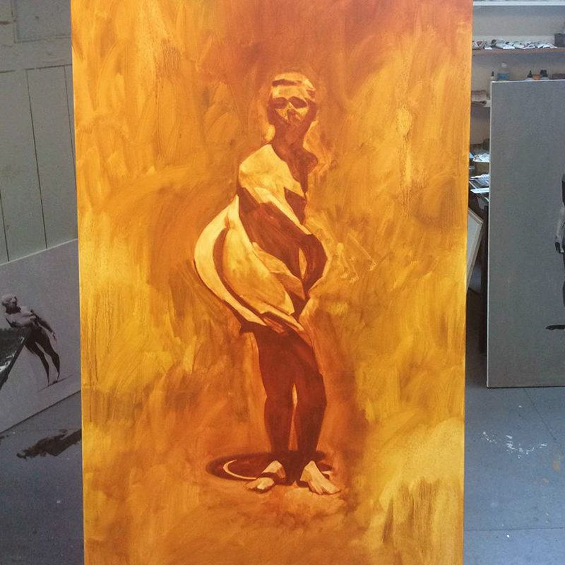 In The Moment 1, In progress