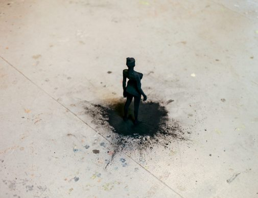 Shadow | Charcoal and cardboard